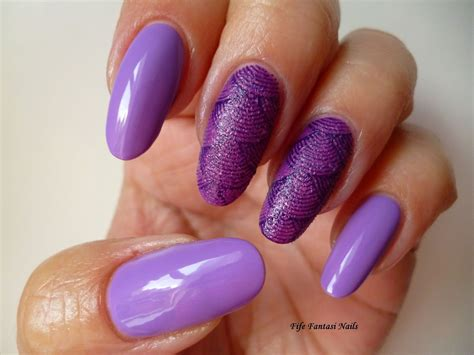 purple pattern nails top 55 purple nails are punchy and perfect
