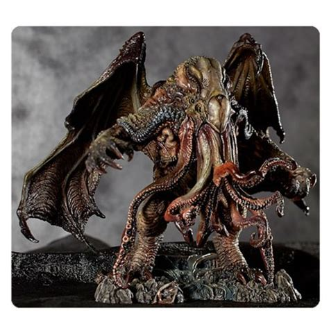 h p lovecraft figure h p lovecraft cthulhu statue by paul komoda gecco