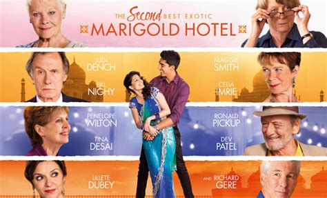 best marigold hotel dvd the second best marigold hotel and dvd