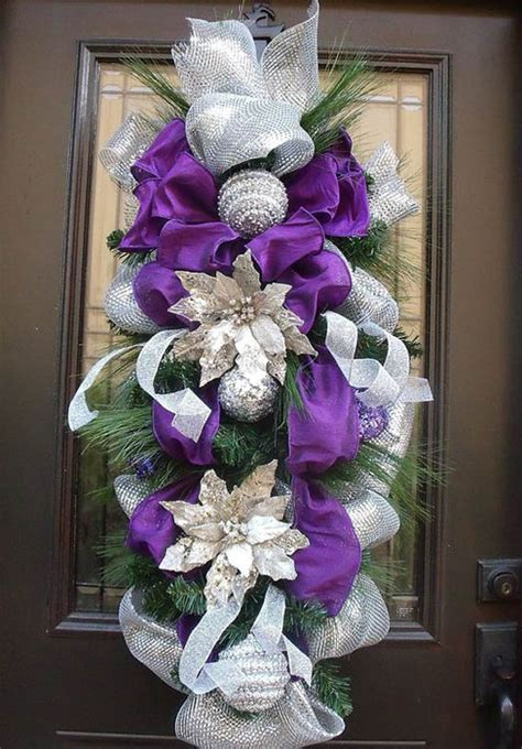 plum color christmas tree decorations 35 breathtaking purple decorations ideas all about
