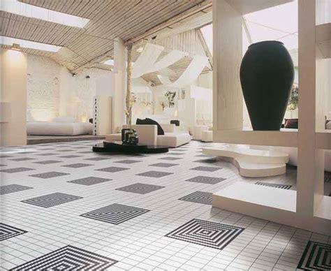 keramik kamar mandi roman modern hitam putih rumah minimalis