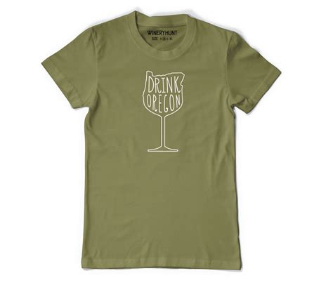 Tshirt Drink drink oregon wine t shirt wineryhunt oregon