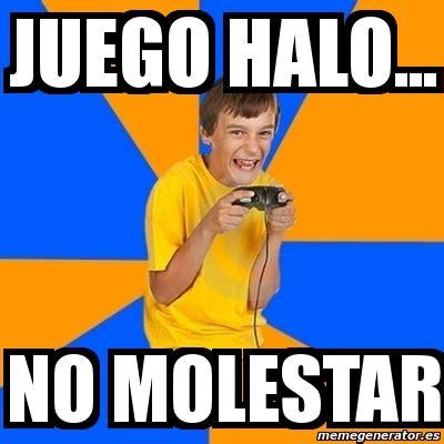 Kid Gamer Meme - meme annoying gamer kid juego halo no molestar 2117849