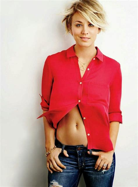 why did kaley christine cuoco sweeting cut her hair celebrity women 2014 2015 kaley christine cuoco