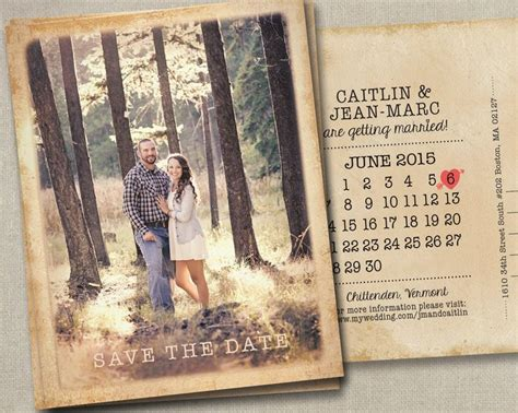 wedding save the date dates photo magnets postcards cards