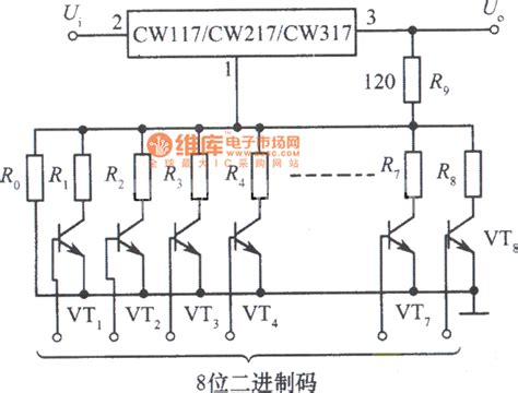 integrated circuits voltage regulator digital adjustable integrated voltage regulator circuit power supply circuits fixed
