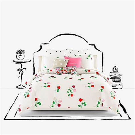 Kate Spade New York Willow Court Maraschino Comforter Set Kate Spade Bed Set