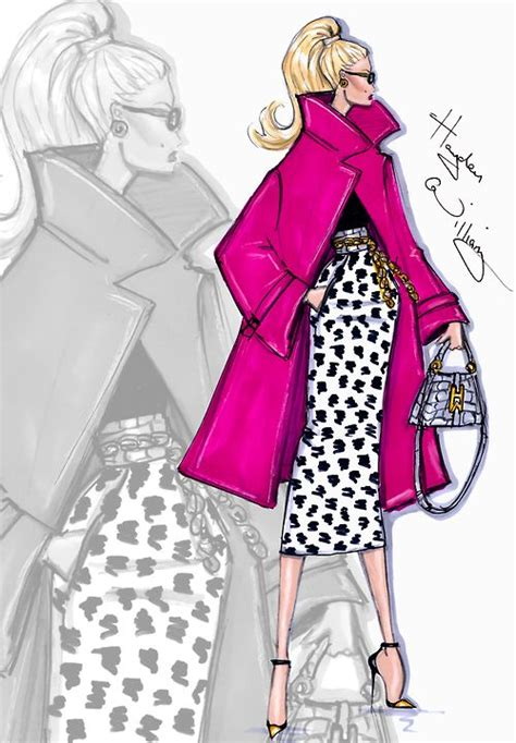 fashion illustration gleam fashion kişisel moda sayfası