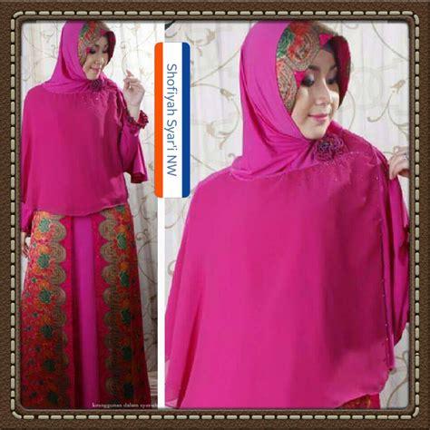 Gamis Syar I Shofiyah Hawa gaun butik islami galeri ayesha jual baju pesta modern