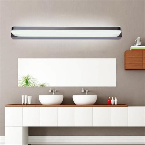 bathroom cabinets with led lights 45cm 120cm mirror light led bathroom wall l mirror