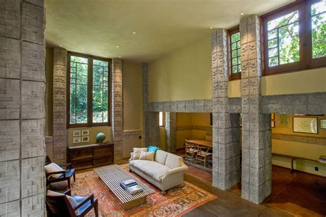 Millard House Design Frank Lloyd Wright Millard House Interior Design Ideas