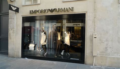 St Armani the worldwide fashion shopping guide