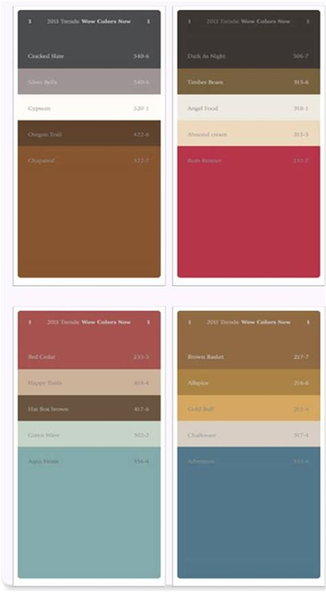 2011 colour trends color and design directions 2011 2012 from ppg voice of