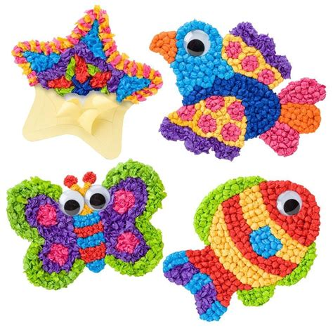 Craft Work With Tissue Paper - alex toys tissue paper toys