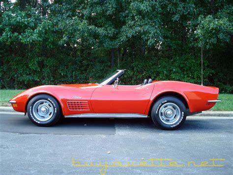 New Home Interior Colors 1970 Corvette Convertible For Sale At Buyavette 174 Atlanta