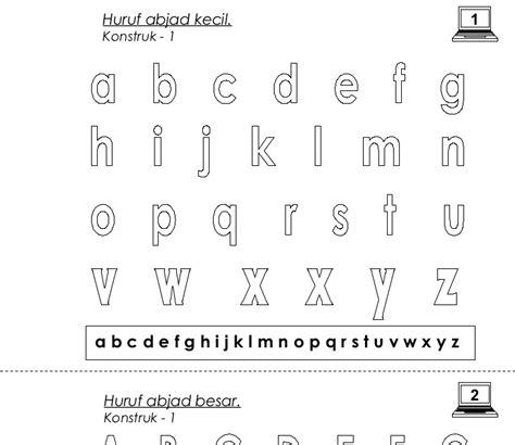 mewarnai huruf abjad coloring