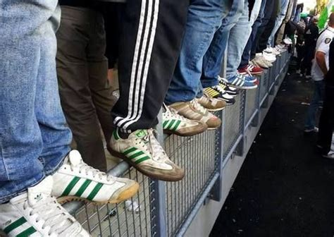 football hooligan shoes subculture trends casuals
