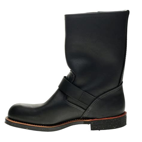 wing engineer boots wing engineer 2990 black mens boots ebay