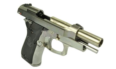 Airsoft Masterpiece Steel Frame Sv Silver we metal cheetah m84fs gbb pistol mini 92 silver airsoft tiger111hk area