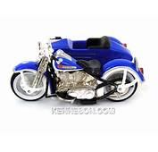 Harley Davidson 1948 Panhead With Sidecar Hot Wheels