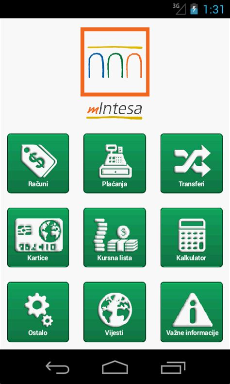 mobile banking intesa m intesa android apps on play