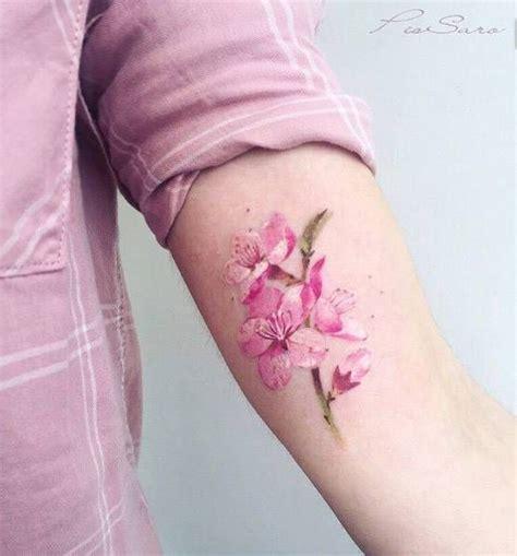 cherry blossom tattoo designs on wrist 131 best tatuajes de flores images on
