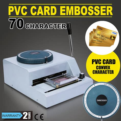 flash card maker machine new updated 70 character manual pvc card embosser credit