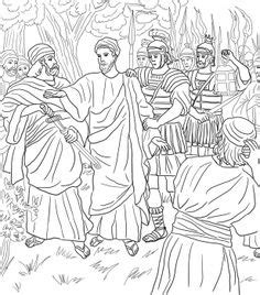 unveiling gethsemane books jesus arrested crucified on bible coloring