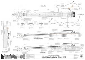 Online Scale Drawing Tool solid body electric guitar plan 10 electronic version