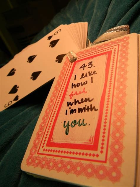 diy christmas ideas for your boyfriend that is 13 craft diy 43 of quot 52 reasons why i like you quot a present each card has a reason