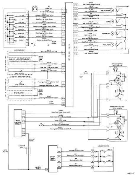 2004 jeep grand power seat wiring diagram image