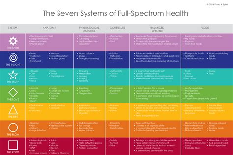 Spiritual Detox Pdf by The 7 Systems Of Health Pdf Food Spirit