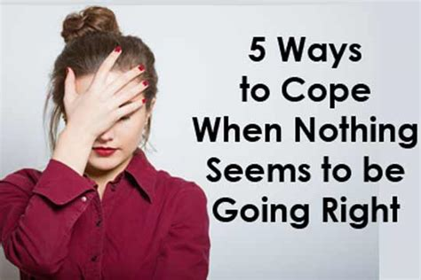 Ways To Cope When You Need To Escape by 5 Ways To Cope When Nothing Seems To Be Going Right