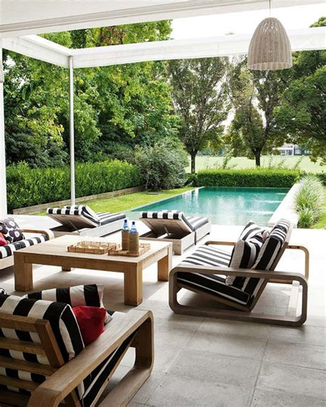 black and white patio furniture easy updates to your outdoor decor home decorating