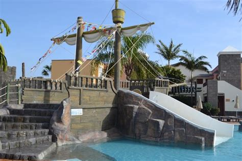 pirate ship pool picture of h10 rubicon palace playa