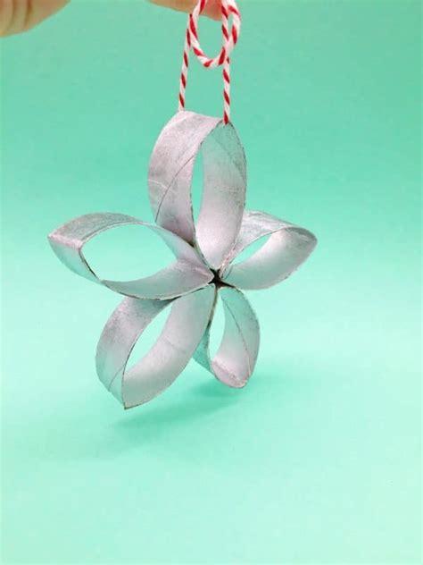 len papier selber machen weihnachtsdeko basteln sterne aus klopapierrollen selber