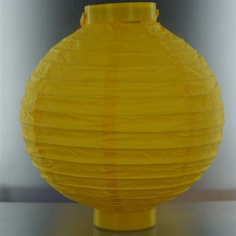 Lighted Paper Lanterns by Yellow Lighted Battery Powered Decorative Paper