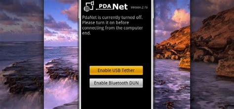 how to tether android how to tether your android phone with pdanet 171 smartphones