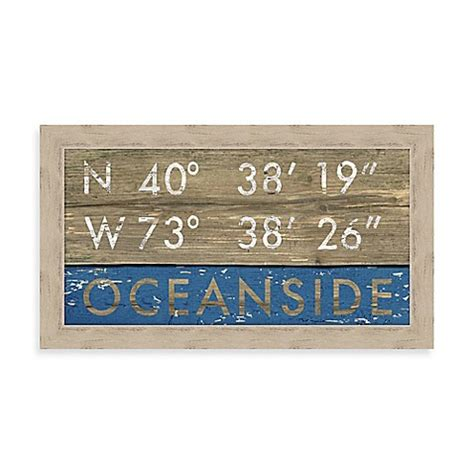 bed bath and beyond oceanside ny buy oceanside coordinates framed wall art from bed bath