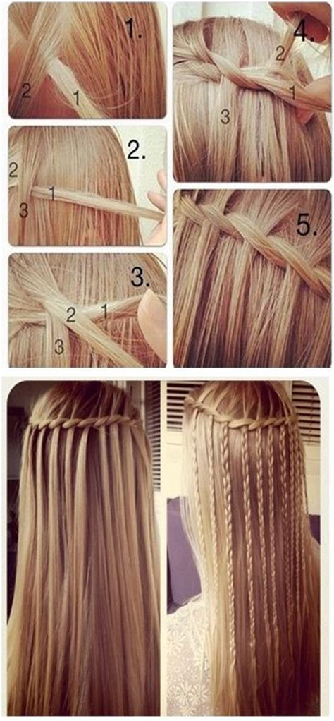 waterfalls cascade braids step by step 10 trendy braided hairstyles popular haircuts