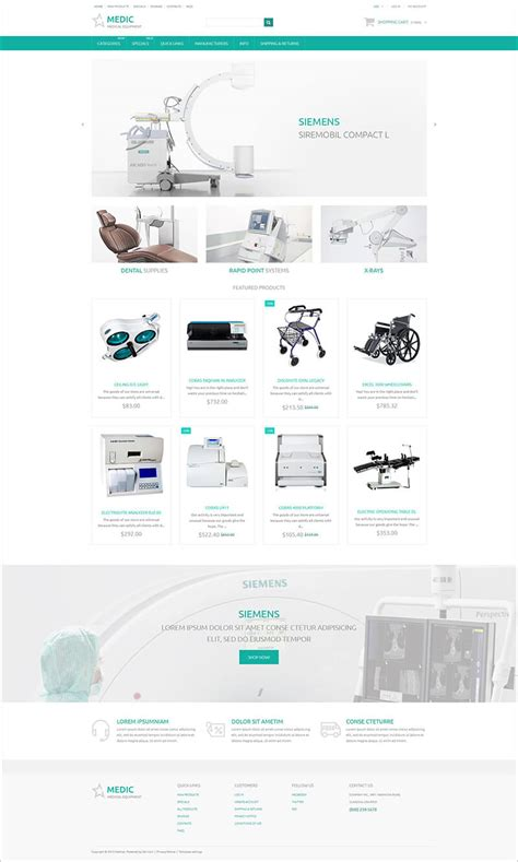 medical zencart templates themes free premium