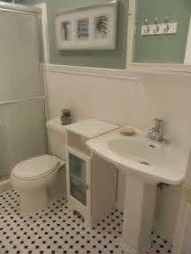 bathroom with wainscoting downstairs apartments pinterest