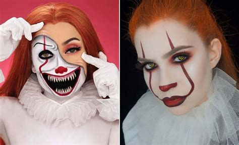pennywise makeup ideas  halloween page