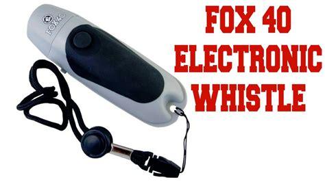 Ultrasonic Whistle Peluit Ultrasonic Murah fox 40 electronic whistle