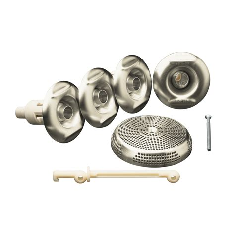 bathtub jets parts shop kohler 4 pack whirlpool jets at lowes com