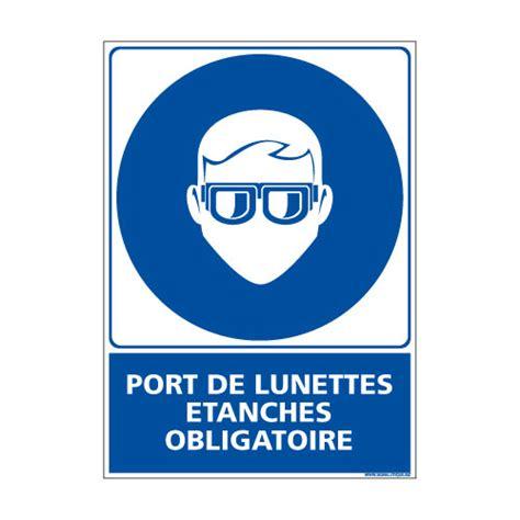 panneau port des lunettes tanches obligatoire e0385