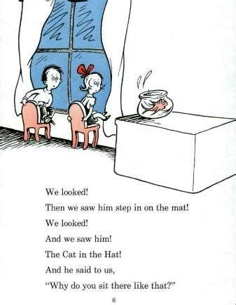 the cat in the hat dont jump on the couch read like bees