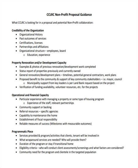non profit project template 51 templates exles sles