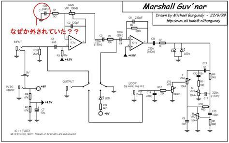 Marshall Guvnor Plus O Drive marshall the guv nor 英国製と韓国製の比較 旧 製作所日誌