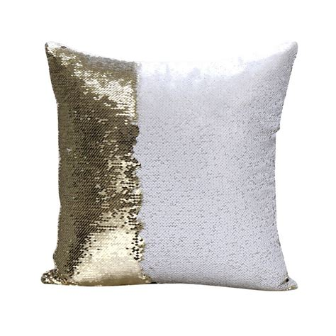 new couch cushion covers new mermaid pillow cover glitter sequins throw cases car home sofa cushion cover ebay